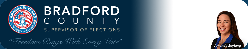 Bradford County Supervisor of Elections