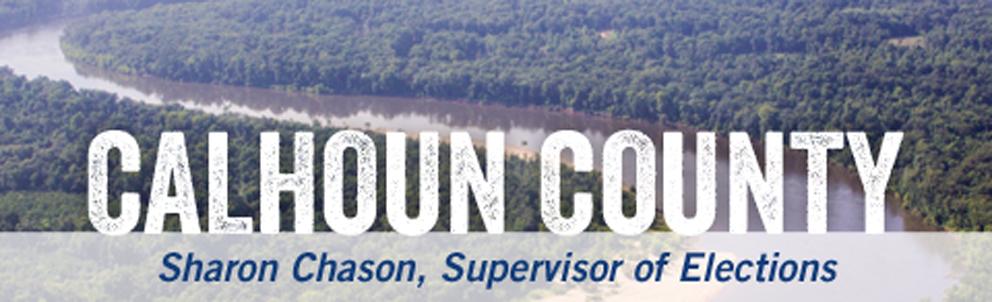 Calhoun County Supervisor of Elections > Home