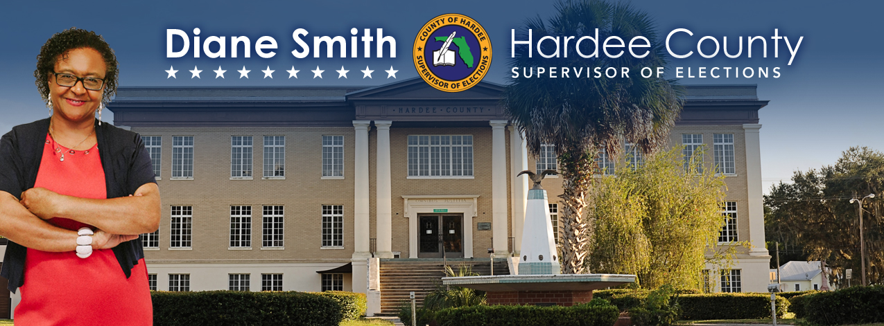 Hardee county Supervisor of Elections banner
