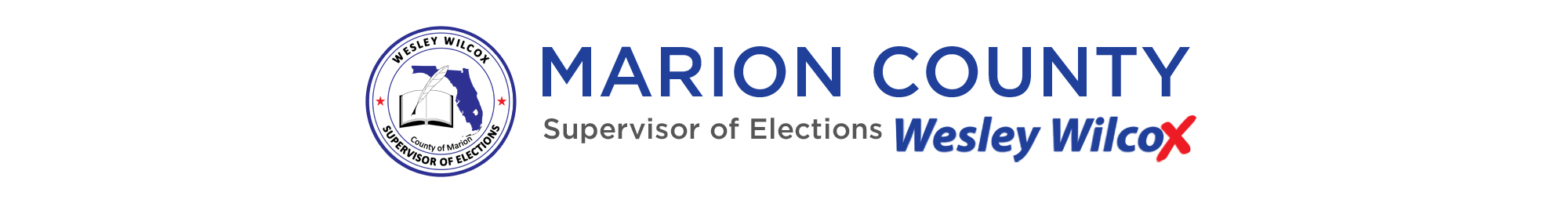 Marion County Supervisor of Elections - Wesley Wilcox