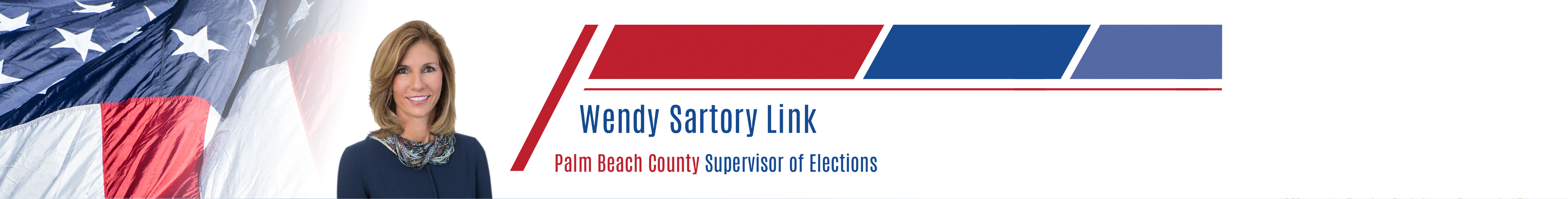 Wendy Sartory Link Supervisor of Elections Palm Beach County