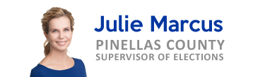 Julie Marcus Supervisor of Elections Pinellas County