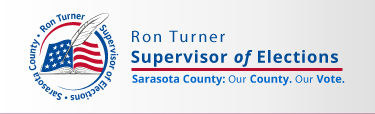 Ron Turner Supervisor of Elections Sarasota County